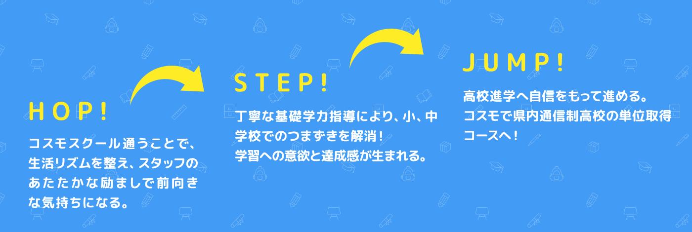 HOP!STEP!JUMP!